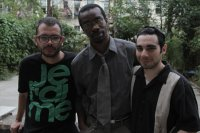 Hanging out with the boys of the Punk Jews documentary, director Jesse Zook Mann and producer Saul Sudin